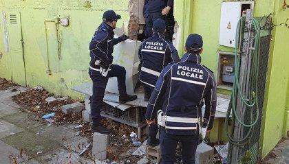 Rimini: nuovi sgomberi della Polizia locale a San Giuliano e Parco XXV Aprile