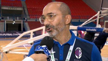 """Fiorentino Futsal, Fallini: """"I ragazzi hanno dato tutto, contento della prestazione"""""""