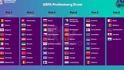 Mondiali, le fasce per i gironi: San Marino può incontrare Andorra, ma non l'Italia