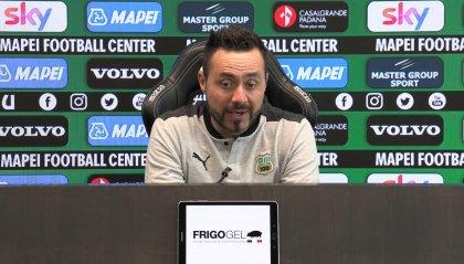 """C'è Sassuolo-Inter, De Zerbi: """"Vogliamo fare la partita"""""""