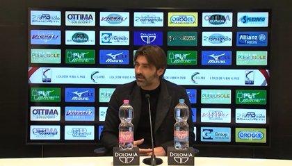 """Cesena-Modena, Viali guarda la classifica: """"E' uno scontro diretto"""""""