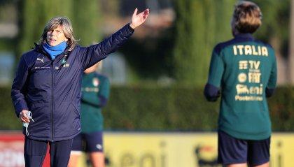 Femminile: martedì l'Italia contro la Danimarca