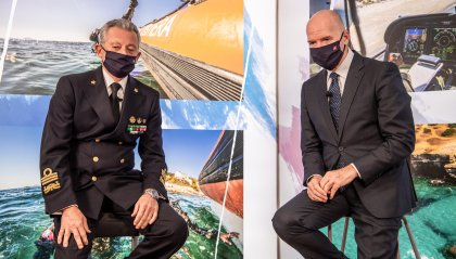 """Presentato a Roma il nuovo """"Calendario della Guardia Costiera 2021"""""""