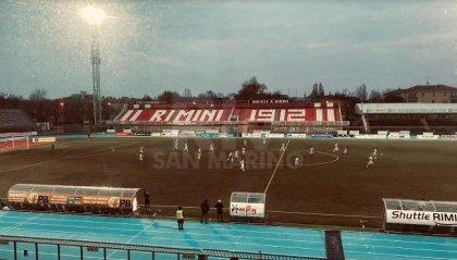 Brega annienta il Rimini. Tripletta dell'attaccante
