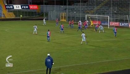 Niente vetta per la FeralpiSalò, col Gubbio è 1-1