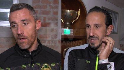 """Colombini: """"Possiamo dire la nostra in questo campionato"""" Mastronicola: """"Oggi il Rimini non c'era"""""""