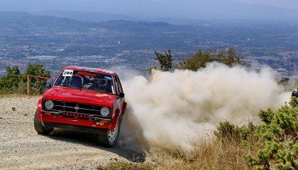 Bruno Pelliccioni e Mirco Gabrielli Campioni Italiani Rally Terra Storico