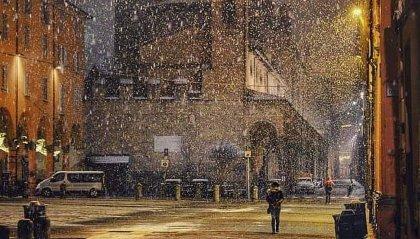 Maltempo sulla penisola: neve a Bologna, ieri in Carpegna, San Marino, al momento, si salva