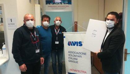3000 mascherine Valpharma Group ai donatori AVIS di Novafeltria