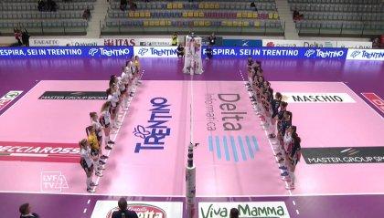 Trentino torna al successo: 3-0 contro Cuneo