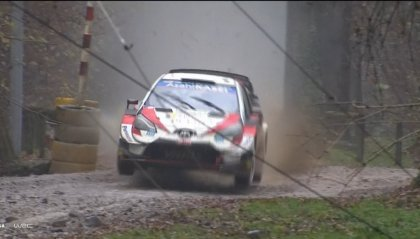 WRC, Rally Monza: dopo 9PS Ogier in testa, Evans gestisce