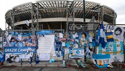 "Il San Paolo diventa ""Stadio Armando Maradona"""