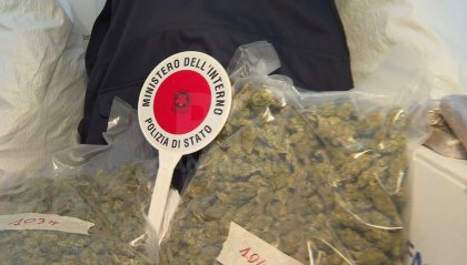 Maxi sequestro della Polizia: 275 chili di marijuana e hashish