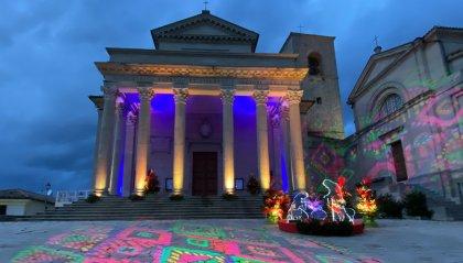 Micro show di inaugurazione per il Natale delle Meraviglie