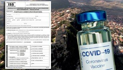 Vaccino: sul sito Iss presenti le note informative e il modulo di consenso informato