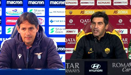 Questa sera il derby tra Lazio e Roma