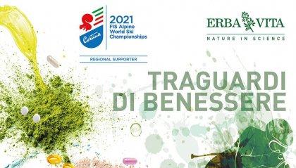 L'integrazione naturale di Erba Vita protagonista dei Mondiali di sci di Cortina 2021