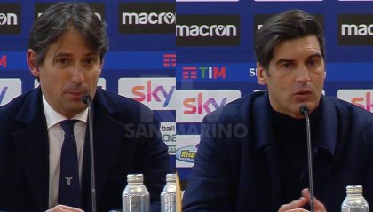 """Simone Inzaghi: """"Grande soddisfazione"""", Fonseca: """"Non cambiano gli obiettivi"""""""