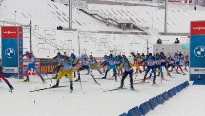 Coppa del Mondo Biathlon: bronzo per l'Italia nella staffetta