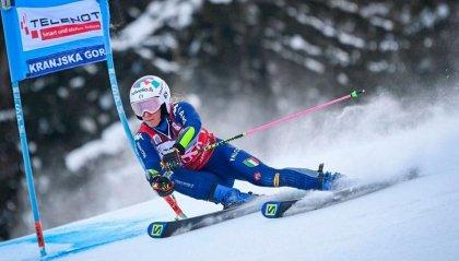 Sci: Marta Bassino vince gigante Kranjska Gora
