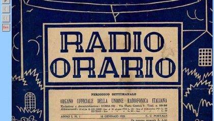 Radio Orario il primo settimanale delle trasmissioni radiofoniche