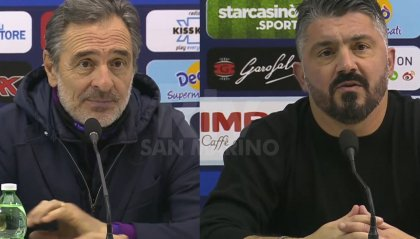 Napoli - Fiorentina, le parole di Prandelli e Gattuso