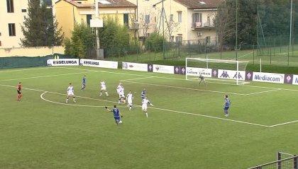 Fiorentina - SM Academy 3-1: viola avanti solo nel finale