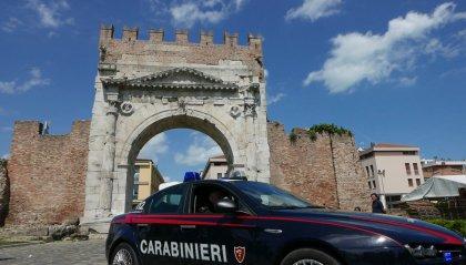 Rimini: evade dai domiciliari e minaccia i genitori, arrestato dai Carabinieri