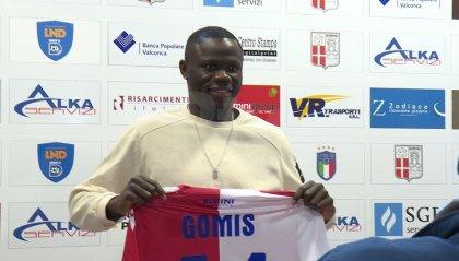 """Rimini, si presenta Gomis: """"felice di essere qui, e di lottare per la promozione"""""""