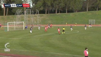 Matelica-Carpi 1-0, Volpicelli decide il recupero
