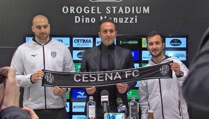 Per il Cesena due ritorni: Elia Benedettini e Giuseppe Borello