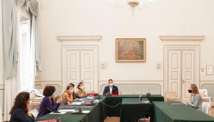 Palazzo Buonadrata: Rimini si laurea nelle in lingue