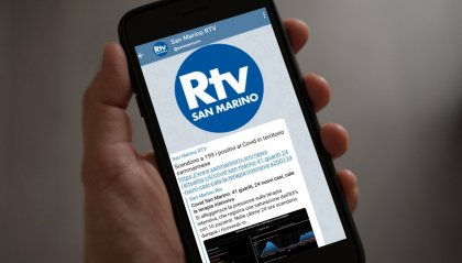 Nasce il canale Telegram di San Marino RTV