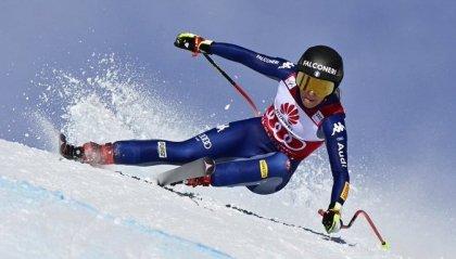 Sci: Coppa del Mondo, Goggia trionfa in libera Crans Montana