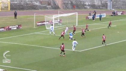 Arezzo - Feralpisalò 2-3: rigori e rossi condannano Stellone