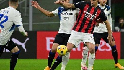 Il Milan crolla, ma è campione d'inverno