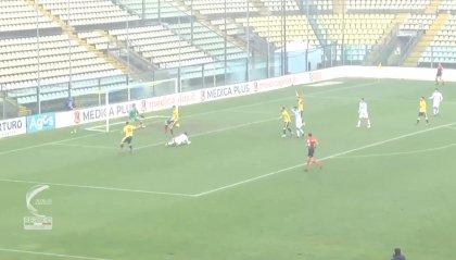 Il Modena batte il Gubbio con un gol per tempo (2-0)