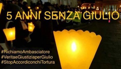 Cinque anni fa spariva Giulio Regeni, oggi il caso in Ue