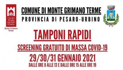 Covid-19: screening di massa a Monte Grimano, ecco come fare