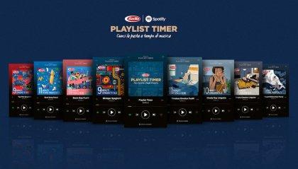 Barilla crea su Spotify la playlist per la cottura della pasta