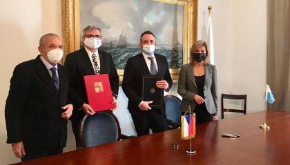 Esteri: firmato DTA con la Repubblica Ceca