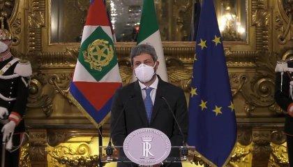 """Presidenti di Senato e Camera da Mattarella, Fico: """"Al lavoro per il bene del Paese"""""""