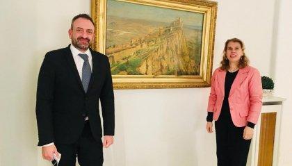 Incontri bilaterali con Repubblica Ceca, Unione europea, Repubblica Popolare Cinese e Federazione Russa