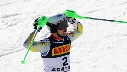 Slalom: vince Foss Solevaag, Vinatzer ai piedi del podio