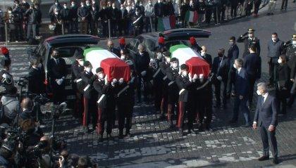 Roma: funerali di Stato per Attanasio e Iacovacci