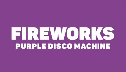 "Purple Disco Machine, esce con un nuovo singolo: ""Fireworks"""