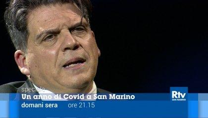 """""""Un anno di Covid a San Marino"""", domani sera lo speciale di San Marino Rtv"""