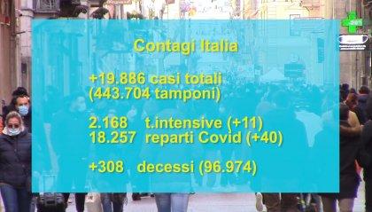 In arancione scuro tutti i Comuni del bolognese, fino al 14 marzo