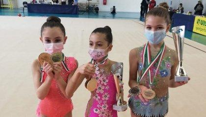 Buon inizio di stagione per le piccole atlete della Società sportiva Ginnastica San Marino