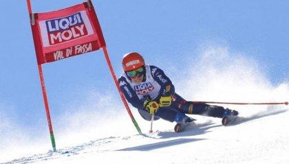 Federica Brignone trionfa in Val di Fassa